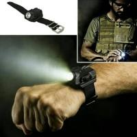 Jam 3in1 / Jam Tangan Multifungsi / Jam, Senter dan Kompas