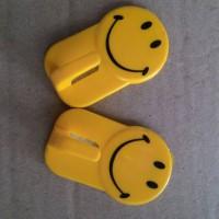 Gantungan Tempel Smile / Kapstok Tempel Smile (2pcs)