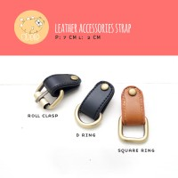 Leather Accessories Strap | Tali Tas | Kulit Sintetik