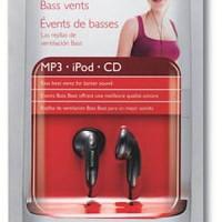 Philips SHE1360 In-Ear Headphones