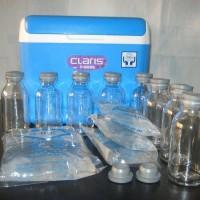 harga Paket Murah Cooler Box+Ice Gel+Botol Kaca tutup karet Tokopedia.com