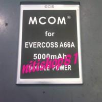 baterai evercoss/cross elevate A66A merk mcom
