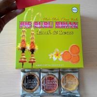 Pie susu Dhian mix 2-6rasa 45pcs/box- cemilan oleh-oleh enak dari Bali