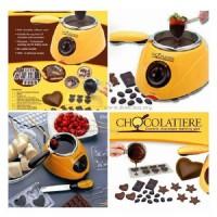 Paket Mesin Peleleh Coklat Chocolate Fondue Machine Alat Pesta Party