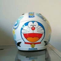 harga Helm Doraemon Anak Mds Face Tokopedia.com