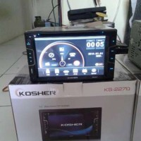 Head Unit Double Din KOSHER KS 2778 By SKELETON