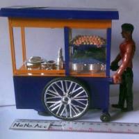 Mainan Gerobak tukang bakso unik