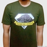 Kaos MGS V Metal Gear Solid 5 V Phantom Pain Diamond Dogs