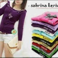 Sweater Wanita Rajut Sabrina Keriwil (12 Warna) M