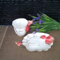 harga Set Teacup Import, Shabby, Pajangan Shabby, Pajangan Keramik Tokopedia.com