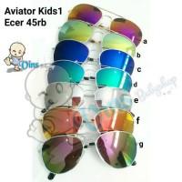 kacamata anak aviator mirror rayban