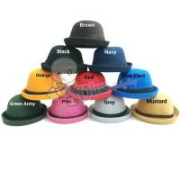 Bowler Hat Topi Caplin Anak Bundar