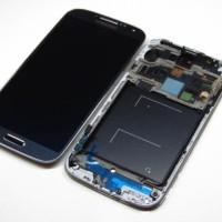 LCD SAMSUNG GALAXY S4 ORIGINAL FULLSET DENGAN FRAME