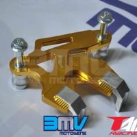 harga Cover Kaliper Matic Yamaha Mio / Soul / Fino / X Ride Full Cnc Gold Tokopedia.com