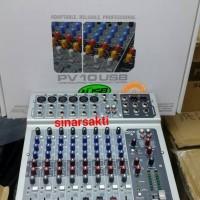 harga Mixer Peavey Pv 10 Usb ( 10 Channel ) Original Tokopedia.com