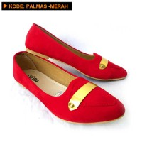 Sepatu Flat - PALMAS-MERAH 24c6c00ee3