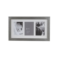 Jbrothers Collage Frame 3 Openings CF 02 Horizontal Style - Silver