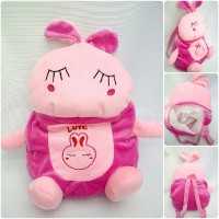 harga tas ransel boneka anak karakter rabbit untuk PG-TK, motif kelinci imut Tokopedia.com