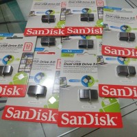 Jual Flashdisk OTG Dual USB Sandisk 32 GB Garansi Resmi 5 Tahun Murah