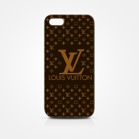 Case Louis Vuitton Logo Case Belakang iPhone 4/4s & 5/5s versi 3D
