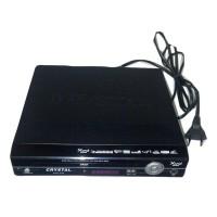 Crystal DVD Player Mini 215 - Hitam