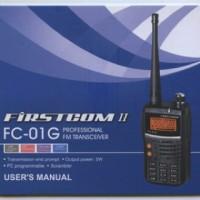 handy talky HT Firstcom FC-01G VHF radio komunikasi