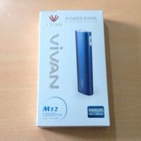 harga Powerbank Vivan M12 12.000mah Tokopedia.com