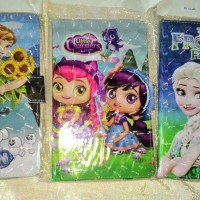 """Sarung Tablet 7"""" Hologram Gambar Lucu Frozen, Sofia, Minions Dll"""