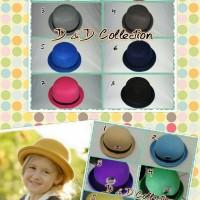 Jual Topi Anak | Topi Bowler | topi fedora chaplin Anak Murah
