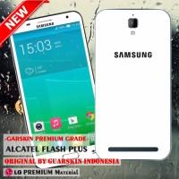 Garskin/skin Alcatel One Touch Flash Plus - Motif Samsung White Case