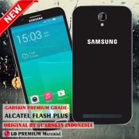 Garskin/skin Alcatel One Touch Flash Plus - Motif Samsung Black Case