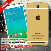 Garskin/Skin Alcatel One Touch Flash Plus - Motif iPhone Gold Case