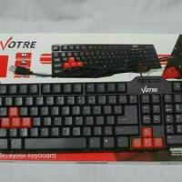 Keyboard komputer Votre / keyboard aksesoris laptop komputer