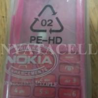 Casing Nokia Asha 206 Depan Belakang + Keypad Original 99%