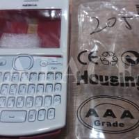 Casing Nokia Asha 205 Depan Belakang + Keypad Original 99%