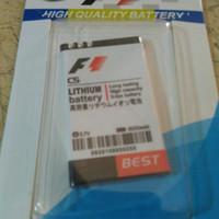 baterai battery cross evercoss c5 c - 5 dobel power f1 1600mah