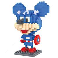 LOZ Lego Nano Block Nanoblock Mickey Mouse Captain America