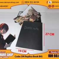 ANIME BUKU DEATH NOTE BOOK REPLICA
