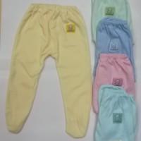Celana Panjang Bayi NewBorn Tutup kaki Hello Baby 3Pcs