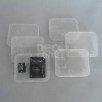 Transparent Storage Case / Kotak Penyimpanan SD / MicroSD Memory Card