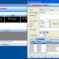 Software Bel Sekolah+Source Code