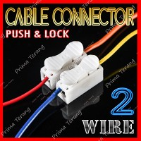 Quick Cable Connector 2 Pin Konektor Kabel Mudah 2P Wire
