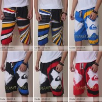 Jual celana pendek pinggang karet quiksilver untuk pantai surfing/surf - a Murah