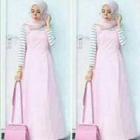 SETELAN hijab verena PINK 3IN1