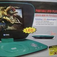 "DVD Portable GMC 7"" LED (Gratis Antena dan Stik Game)"