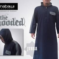 Jubah Hooded Navy blue / Jubba Hooded