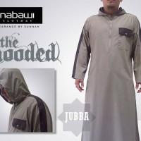 Jubah Hooded Brown Milk / Jubba Hooded
