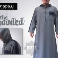 Jubah Hooded Gray / Jubba Hooded