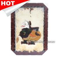 harga Lukisan Wayang Kulit Semar Kulit Kambing Bingkai 70x50 Cm Tokopedia.com