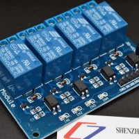 5V 4-Channel Relay Module Shield for Arduino ARM PIC AVR DSP Electroni